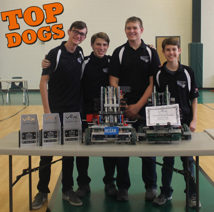 JSHS VEX Robotics Teams score success