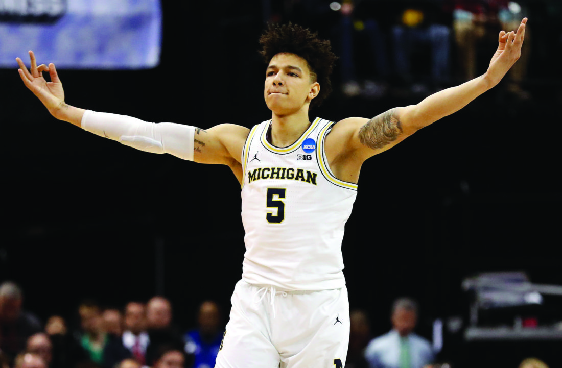 Michigan's Red-Hot 2nd Half Shooting Leads To Win