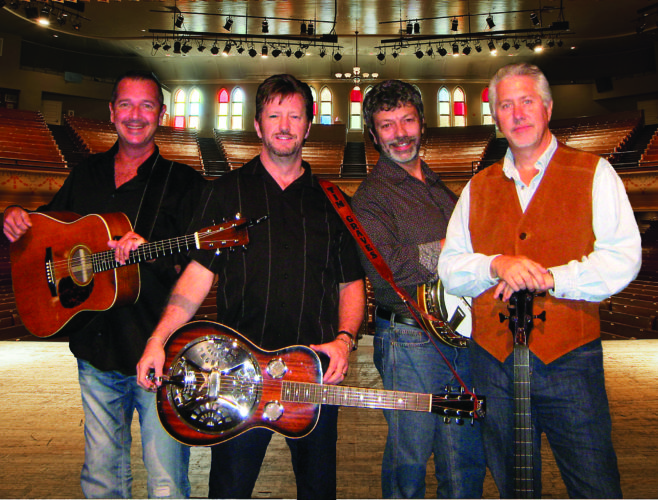 PHOTO PROVIDED The Farm Hands will give a concert Sunday morning May 21 at Hillview Wesleyan Church, Flemington.