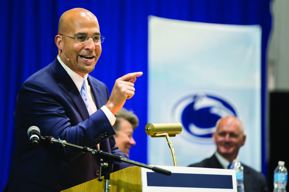 Contract extension nearing for Penn State football coach James Franklin