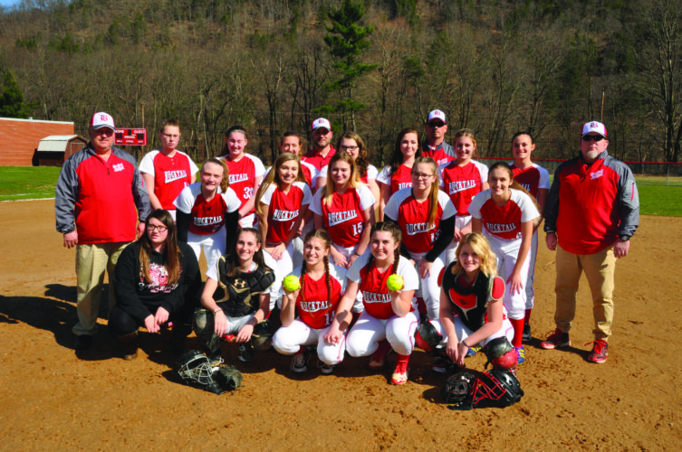 The 2017 Bucktail High School softball team, led by a load of freshmen, surprised critics everywhere by making the  playoffs for the first time in school history. Their first playoff game will be played on Tuesday against St. John Neumann. (The Express/Kevin Rauch)
