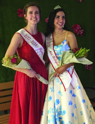 Sierra Pletcher of Bellefonte, right, has been named Miss Bellefonte 2017-18 and will represent her school in the Pennsylvania State Flaming Foliage Festival, held in Renovo the second weekend of October. Kaylee Dreese, left, is the runner-up.