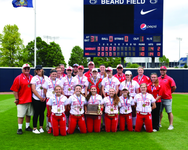 Yesterday at Penn State University, Bellefonte High School won the district championship for the second season in a row. (The Express/Tim Weight)