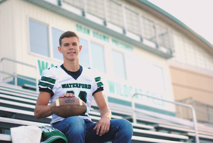Waterford senior Isaac Huffman has played a pivotal role in the success of the Wildcats' football, basketball and baseball teams since his freshman year.  Courtesy photo