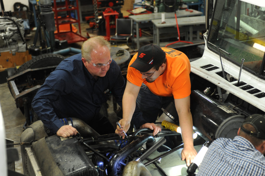 Diesel Mechanic college courses for high school students nyc