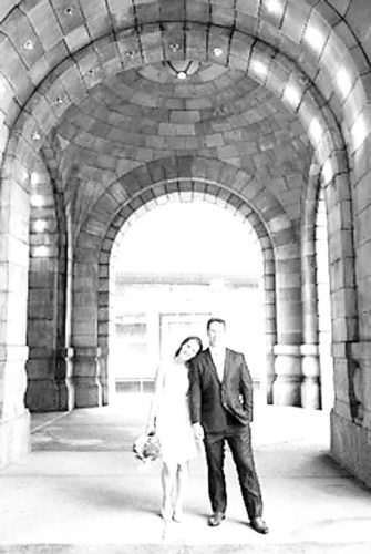 Brian and Megan Reitnauer