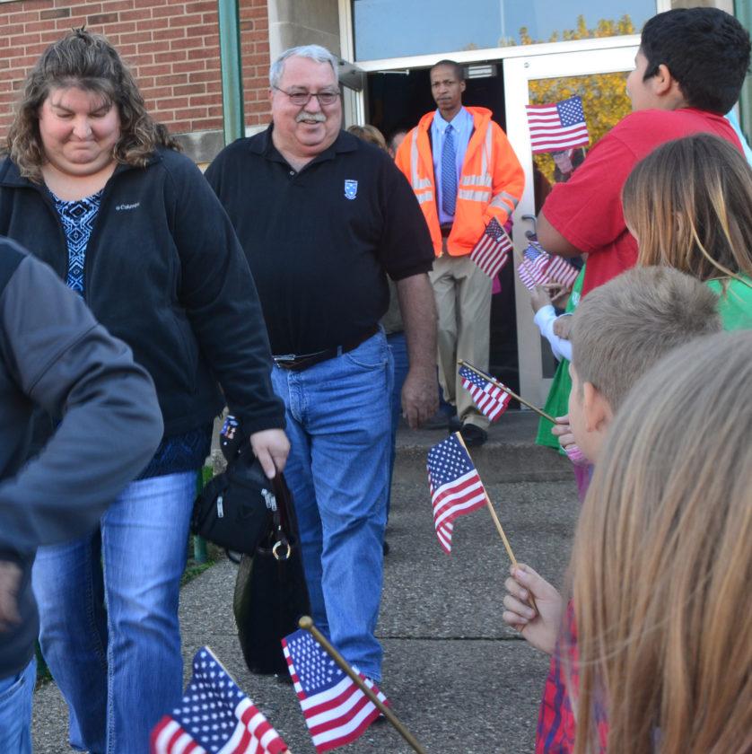 Veteran's Speak to Elementary School Students