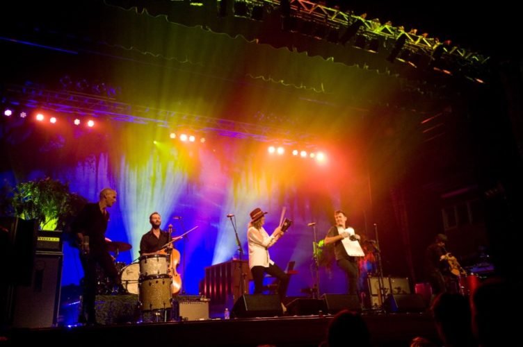 Photo submitted by Drew Tanner Brandi Carlile and her band perform at the Peoples Bank Theatre in June.