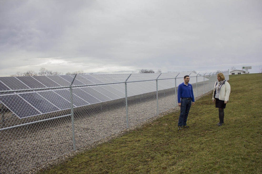 Electric cooperatives across Ohio are turning to solar projects