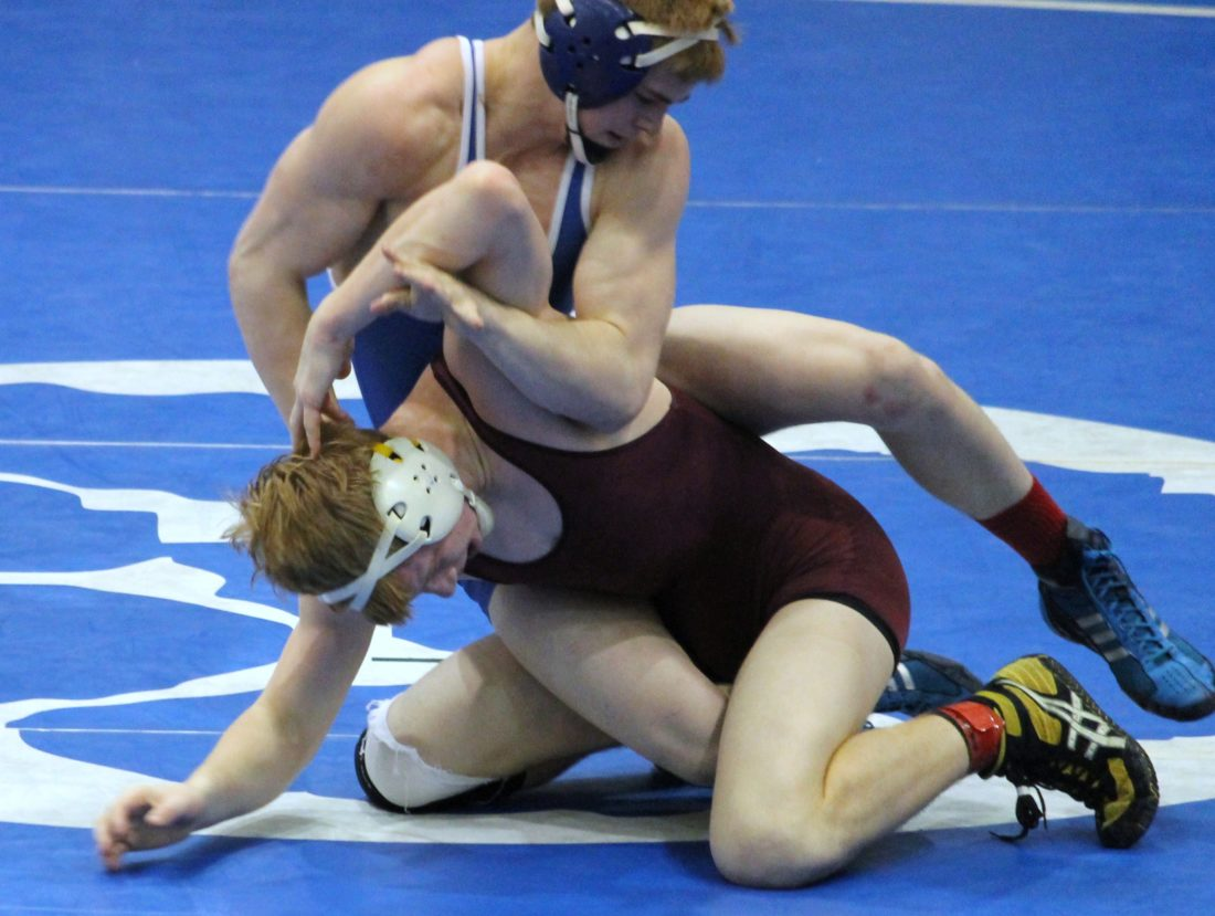 parsons no at warren but misses out on state news sports times file photo warren high s casey parsons top competes during a high school wrestling
