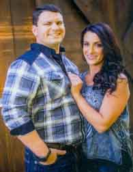 Danielle Stephanik and David Scheithauer