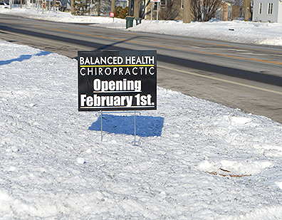 Photo by Karin Elton Casey Paluch, DC, is opening a new chiropractic office, Balanced Health Chiropractic, at the Main Street Center Office Complex in Marshall in February.
