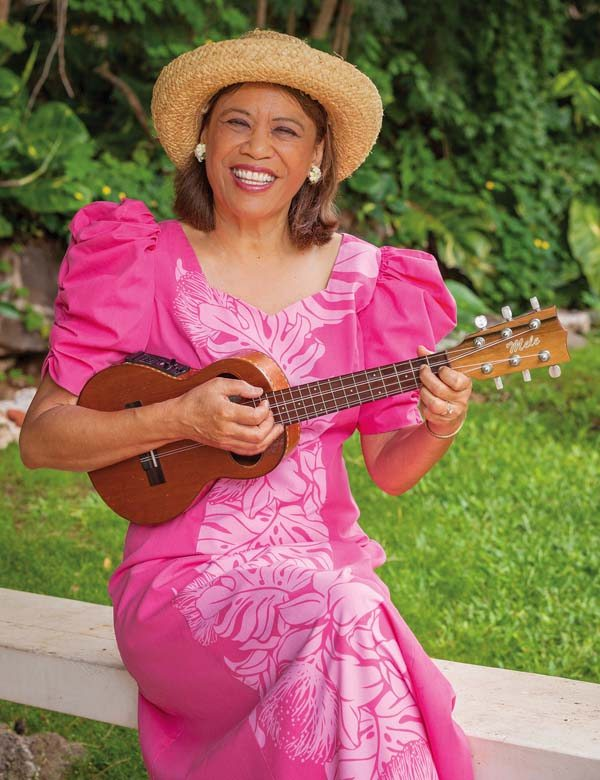 Singer, song arranger and ukulele player Mele Fong shares the joy of making music — one ukulele player at a time. Light Sea Images / LLEVELLYN LIGHTSEY photo