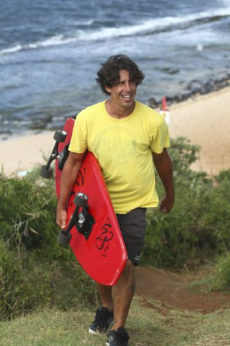 "Makawao resident Yancey Meyer received a $200,000 offer on the television show ""Make Me A Millionaire Inventor,"" televised Thursday night, to help him with his WaveSkate invention. The WaveSkate is a combination skateboard and surfboard. Yancey Meyer photo"