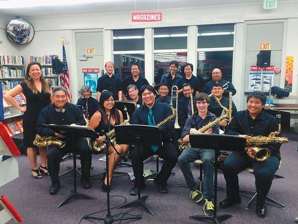 The Chop Suey Jazz Orchestra (first photo) and DeShannon Higa of the Hawaii Jazz All-Stars are among the performers who will be featured at Saturday's East Meets West Festival. Photo courtesy festival organizers