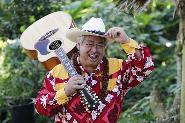 Catch George Kahumoku Jr.'s CD Release Party at 7:30 p.m. Wednesday in the Aloha Pavilion at Napili Kai Beach Resort. SHANE TEGARDEN photo