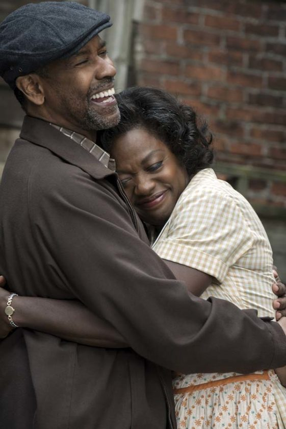 "Denzel Washington and Viola Davis star in ""Fences."" Paramount Pictures photo via AP"