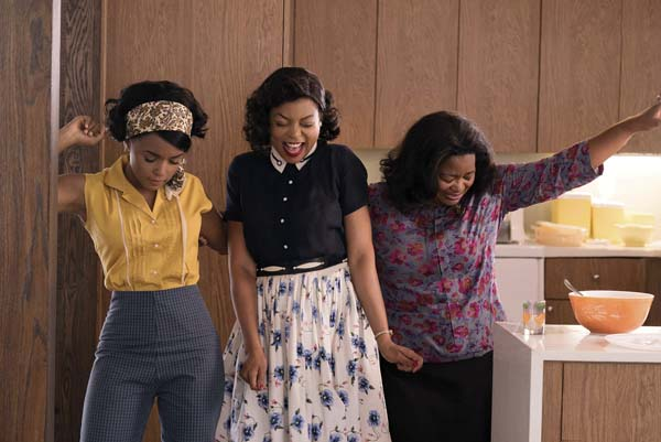 "Janelle Monae (from left) Taraji P. Henson and Octavia Spencer star in ""Hidden Figures."" Twentieth Century Fox photo via AP"