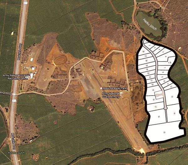 Heavy Industrial Subdivision Takes Shape Near Raceway