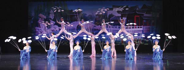 New Shanghai Circus will perform Monday and Tuesday; photo provided by MACC.