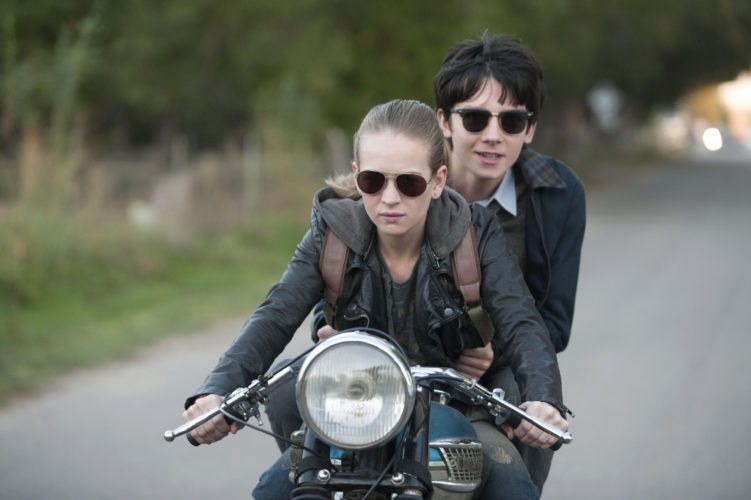 "Britt Robertson and Asa Butterfield star in ""The Space Between Us"" STX Productions photo via AP"