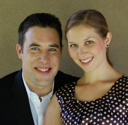Musicians Jonathan Korth and Rachel Schutz perform today, photo courtesy MACC.