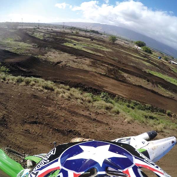 The Maui Motocross Association track in Puunene, site of this weekend's Craig Lew Memorial State Races, is pictured. NICK SAUSSY photo