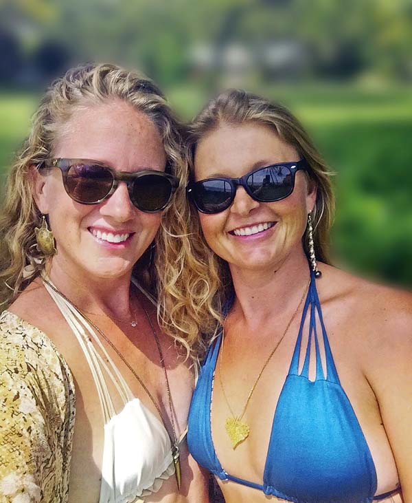 Manakai Swimwear owners Kelley Chapman (left) and Anna Lieding dared to dream big. Today, their hard work is paying off — in the most fashionable way possible.