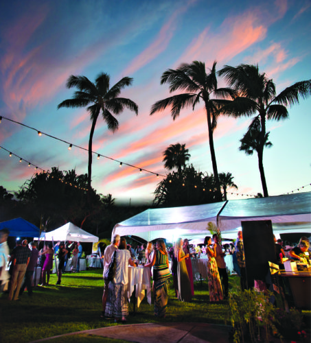 The Sunset Lawn of the Hotel Wailea will set the stage Saturday. • Grow Some Good photo