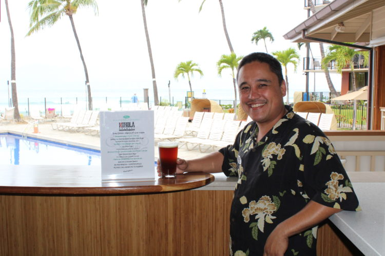 Beach Club's Nathan Mau is general manager and chef at the Aston Kaanapali Shores. He will present a Kohola Brewery dinner from 6 to 7:30 p.m. on Friday at the oceanfront hideaway in West Maui.     • CARLA TRACY photo