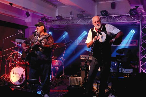 Catch Willie K, Mick Fleetwood and other performers at the BBQ Bluesfest later this month. Shooting Stars Maui photo