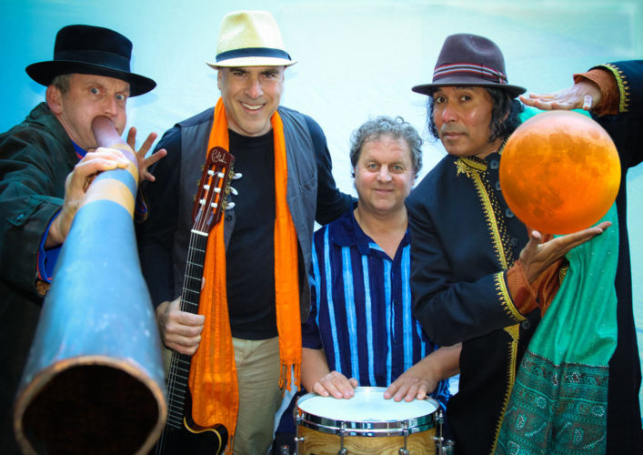 "Baraka Moon performs ""an evening of ecstatic global trance grooves"" at 7 p.m. Friday at the Temple of Peace in Haiku, and an ""unplugged"" concert at 7:30 p.m. Saturday at Lumeria Maui in Makawao. Tickets are $20 at the door for each event. • Photo courtesy of the artist"