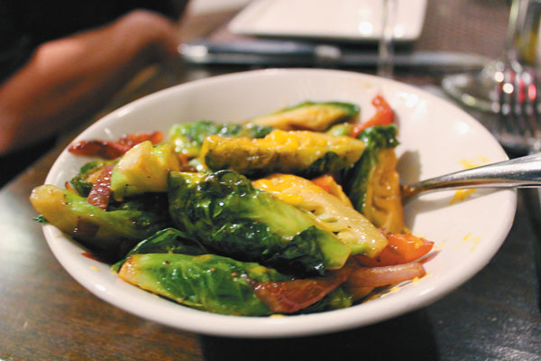 Brussels sprouts entice. The Maui News / CARLA TRACY photo