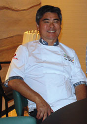 World-famous chef and owner Roy Yamaguchi. Photo by Carla Tracy