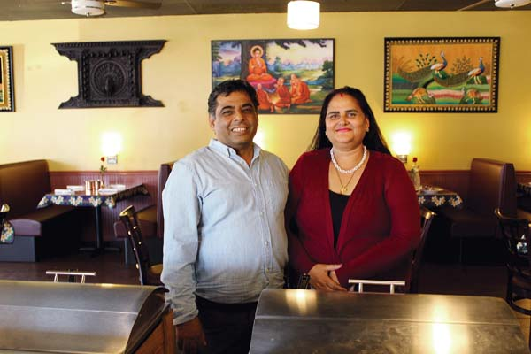 "Owners are Nepal natives Tirtha ""Raj"" Luitel and  wife Danta Luitel, who also run two other Kamana Kitchens on the Big Island. The Maui News / CARLA TRACY photo"