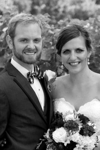 Sean and Kelsey  Ostendorf