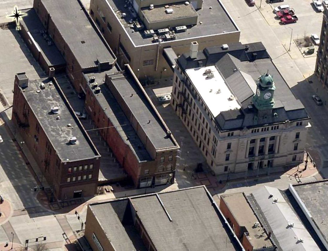 shows the messenger building next to the county courthouse aerial. Cars Review. Best American Auto & Cars Review