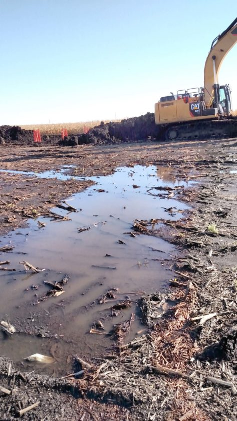 -Contributed file photo Long-term soil compaction, and its impacts, are on farmers' minds whose fields were crossed by the Dakota Access pipeline this year.