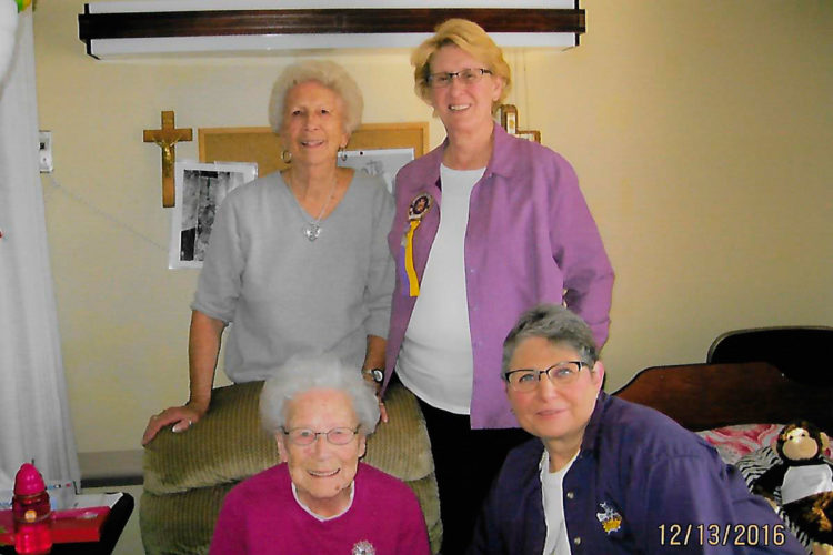 Frances Adams has been a member of the CDA for 80 years.