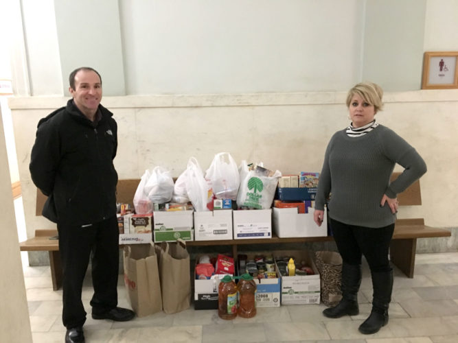 Webster County employees collect for Lord's Cupboard