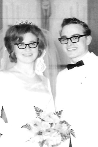 Janna and Jim Graham in 1967