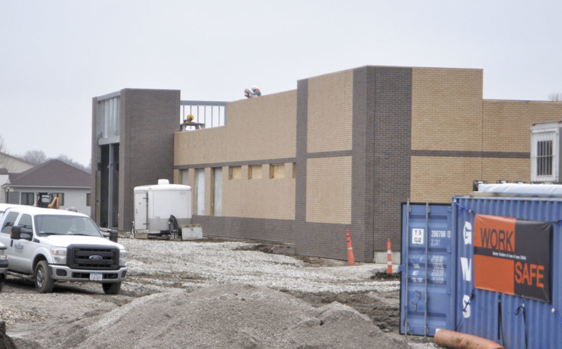 -Messenger photo by Chad Thompson  A new Fareway grocery store in Humboldt is ahead of schedule and may open as early as this summer.