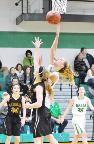 Messenger file photo  St. Edmond senior Megan Flattery was a first team all-NCC basketball selection.