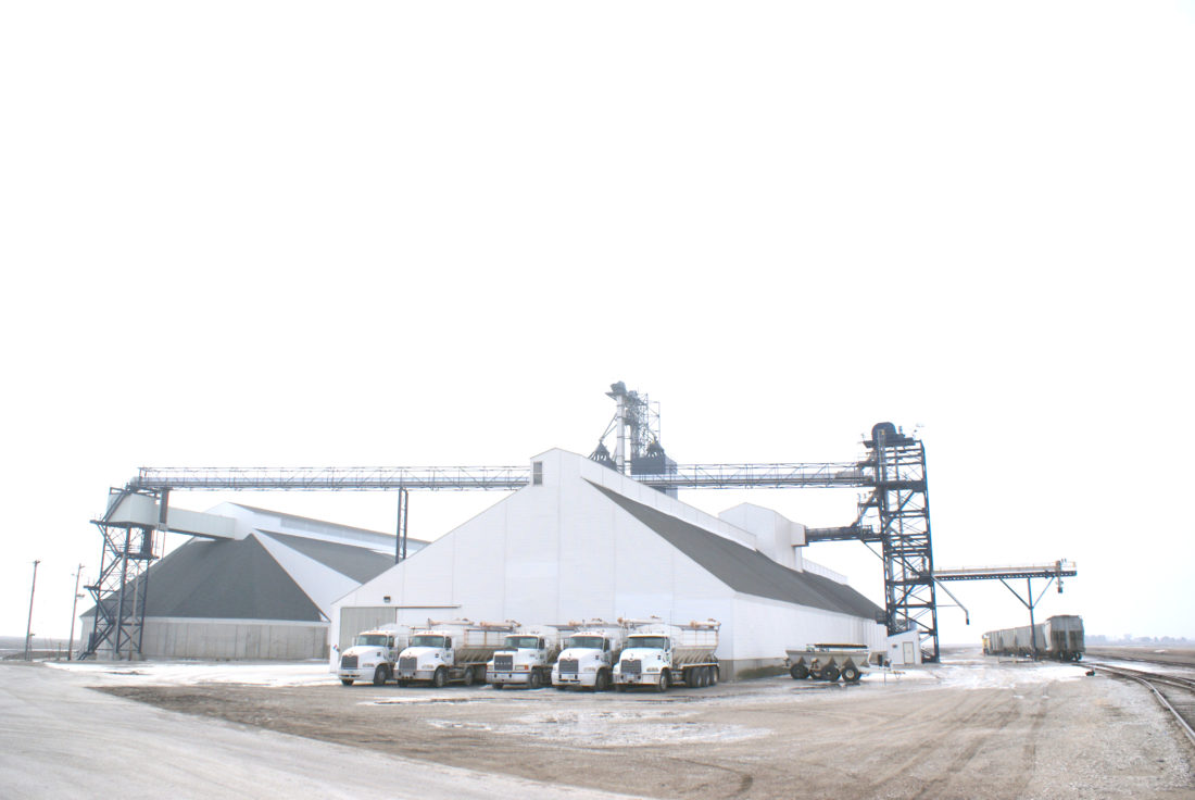 - Messenger photo by Dawn Bliss  NEW Cooperative started up this fertilizer facility in 2016.