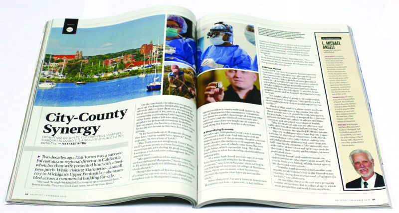 The December issue of Delta Sky Magazine — an inflight publication read by millions each month — features Marquette County and nearby areas.