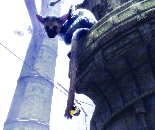 "This image released by Sony Interactive Entertainment shows a scene from ""The Last Guardian."" (Sony Interactive Entertainment via AP)"