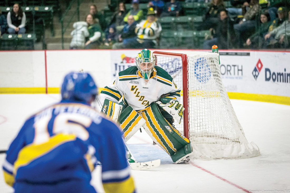WCHA: On The Doorstep - Northern Michigan University's Atte Tolvanen Ready To Set 2 National Records For Goaltenders