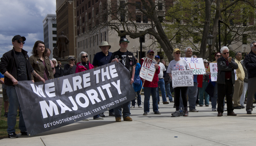 Protesters hold May Day rally at Michigan's Capitol | News ...