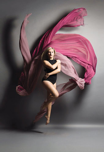 Submitted Photo Kayla Rognoni will pursue her dance dreams when she graduates next month from Minot High School.