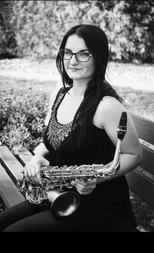 Submitted Photo North Dakota Saxophone Player  Lindsey Eliasen is a division finalist in the Music Teachers National Association Young Artist Performance Competition.